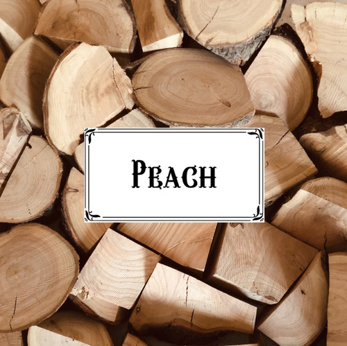 Australian Peach Wood Chunks