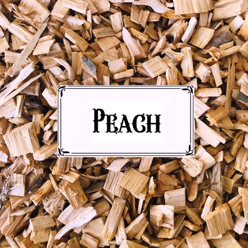 Australian Peach Wood Chips