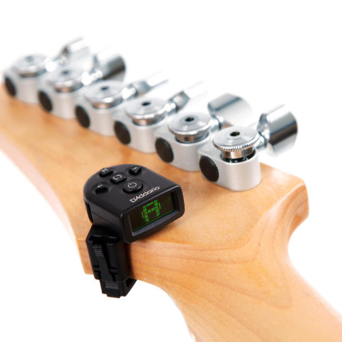 D'Addario Planet Waves NS Micro Headstock Clip-On Tuner Twin Pack PW-CT-12TP
