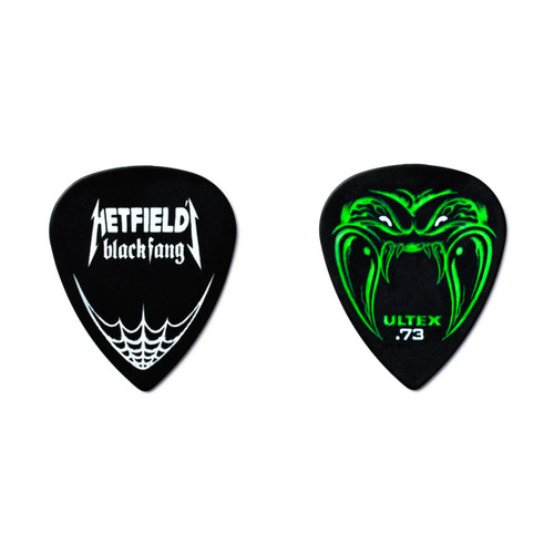 Dunlop James Hetfield Black Fang .73mm Guitar Pick Tin Metallica PH112T