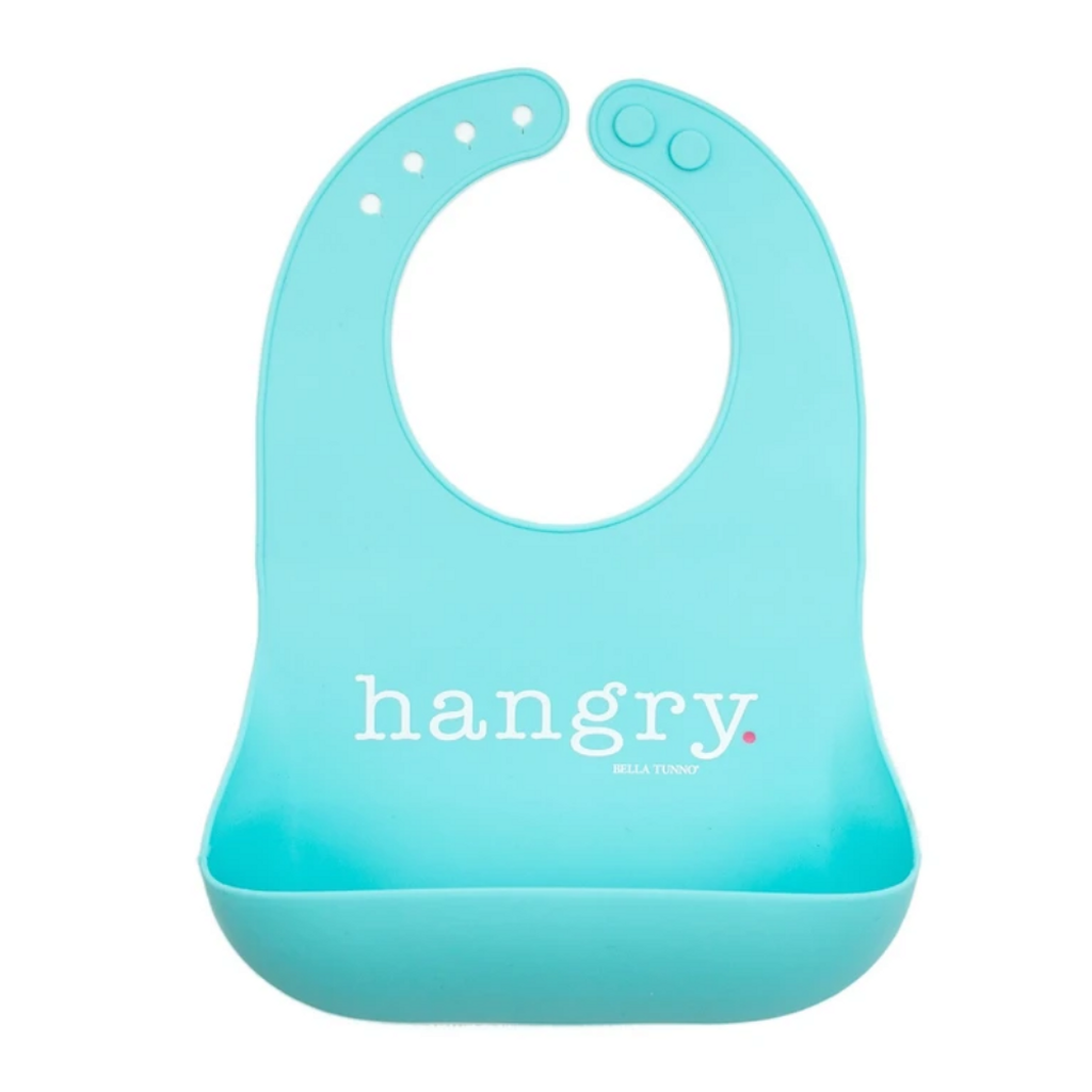 Hangry Girl Silicone Bib