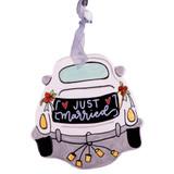 Wedding Car Flat Ornament