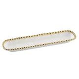 Pampa Bay - White & Gold Cracker Tray