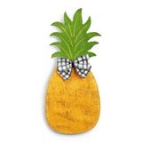 Pineapple w/ Bow Door Hanger