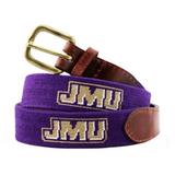 Needlepoint Belt - James Madison University
