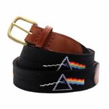 Needlepoint Belt - Pink Floyd Prism