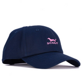 Scout Heads or Tails Hat - Navy & Pink
