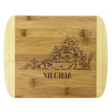 Slice of Life Virginia Cutting & Serving Board