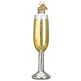 Old World Christmas Champagne Flute Ornament