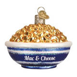 Old World Christmas Bowl of Mac & Cheese Ornament