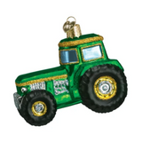 Old World Christmas Tractor Ornament