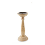 Thin Distressed Candlestick - Small