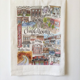 Charlottesville Classics Tea Towel