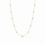 Julie Vos Gold Penelope Delicate Station Necklace