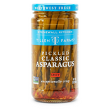 Spicy Pickled Classic Asparagus