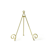 Happy Everything Gold Swirl Big Plate Stand