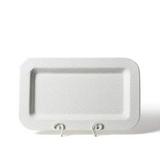 Happy Everything Stone Small Dot Mini Entertaining Rectangle Platter
