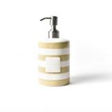 Neutral Stripe Mini Cylinder Soap Pump