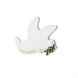 Happy Everything Large Attachment - White Dove