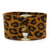 Keva Leather Cuff - LEO