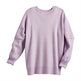 Astrid Ribbed Sweater - Lilac