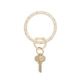 Big O Resin Key Ring - 24K Gold