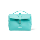 Nona Insulated Rolltop Lunch Bag - Turquoise