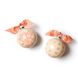 Coton Colors Ornament - Welcome Baby Girl Gingham