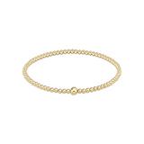 enewton Classic Gold 3mm Bead Bangle