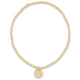 enewton Classic Gold 2mm Bead Bracelet - Blessed Small Gold Charm