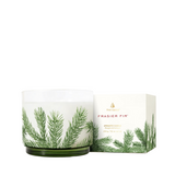Frasier Fir Heritage Small Pine Needle Luminary Candle