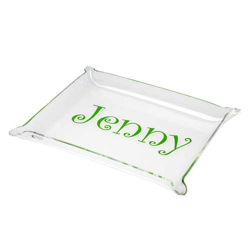 Acrylic Pinched Corner Tray - Large