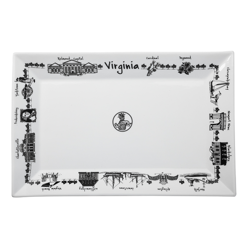 Virginia Rectangular Platter