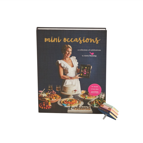 NEW! Nora Fleming Mini Occasions Cookbook with Cookbook Attachment