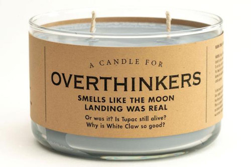 Whiskey River Overthinkers Candle