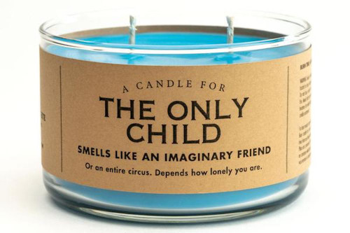Whiskey River Only Child Candle