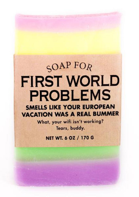 Whiskey River First World Problems Soap