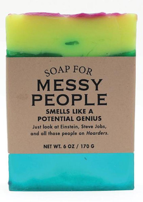 Whiskey River Messy People Soap