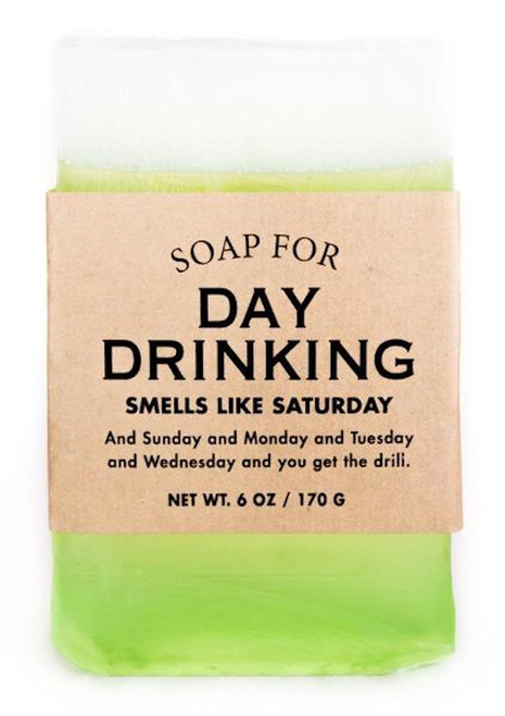 Whiskey River Day Drinking Soap