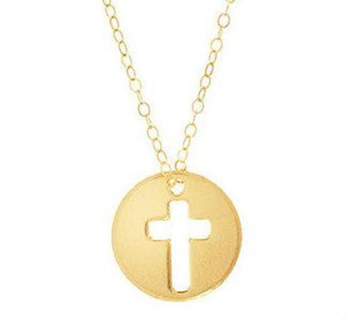 """enewton NECKLACE 16"""" GOLD BLESSED CHARM"""