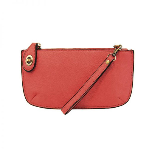 JOY SUSAN - WRISTLET CLUTCH - BERRY - MINI CROSSBODY