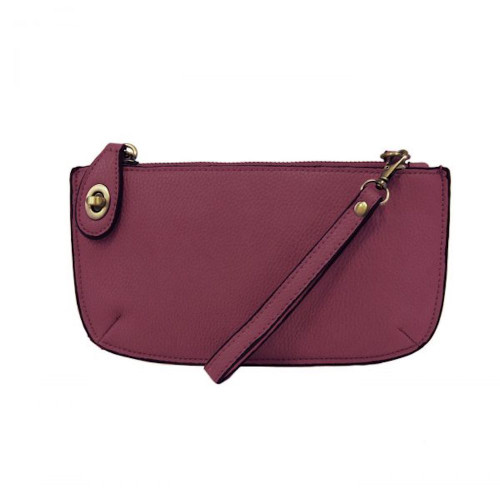 JOY SUSAN - WRISTLET CLUTCH - MULBERRY - MINI CROSSBODY