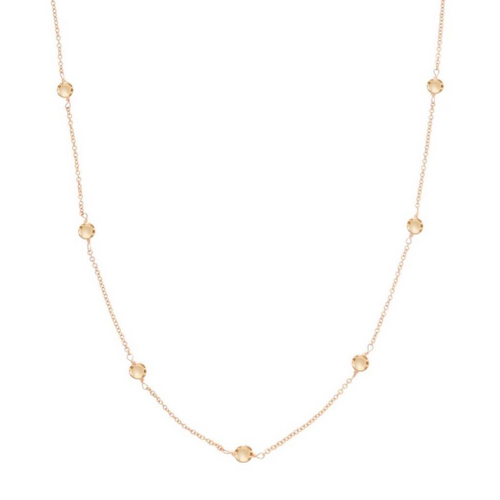 "enewton NECKLACE 41"" SIMPLICITY CHAIN GOLD - 5mm BEAD GOLD"