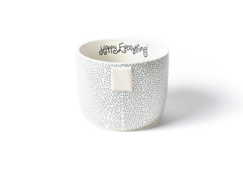 Small Happy Everything Bowl - Stone Small Dot
