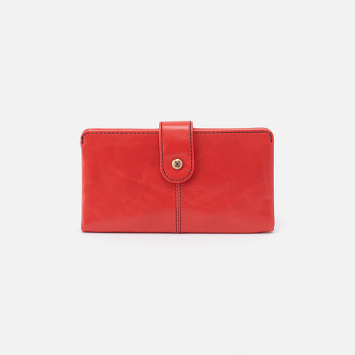 HOBO MARSHAL WALLET - RIO RED