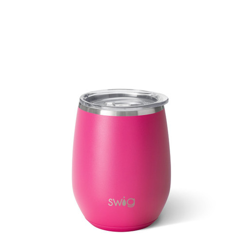 Swig! Stemless Wine - Hot Pink