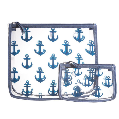 Bogg Bag S/2 Decorative  Insert - Anchors