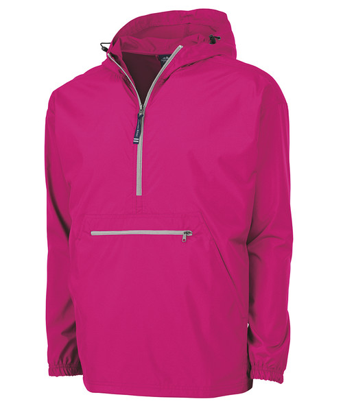Women's Lightweight Pullover - Hot Pink