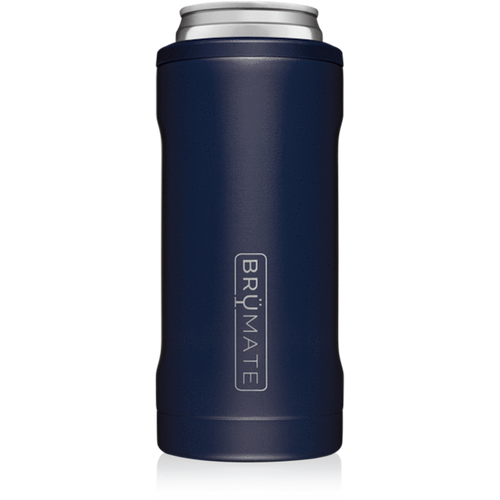 Brumate 12oz Slim Can Cooler - Matte Navy