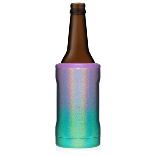Brumate Hopsulator Bottle Cooler - Glitter Mermaid